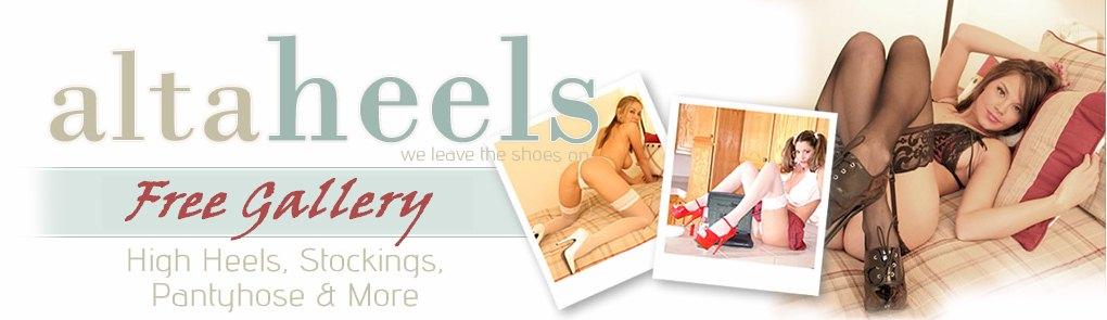 ... wearing High Heels, Nylons and Pantyhose! | Shoe fetish Alta Heels: http://www.altaheels.com/pantyhose-sex/lexi-stone-tight-dress/